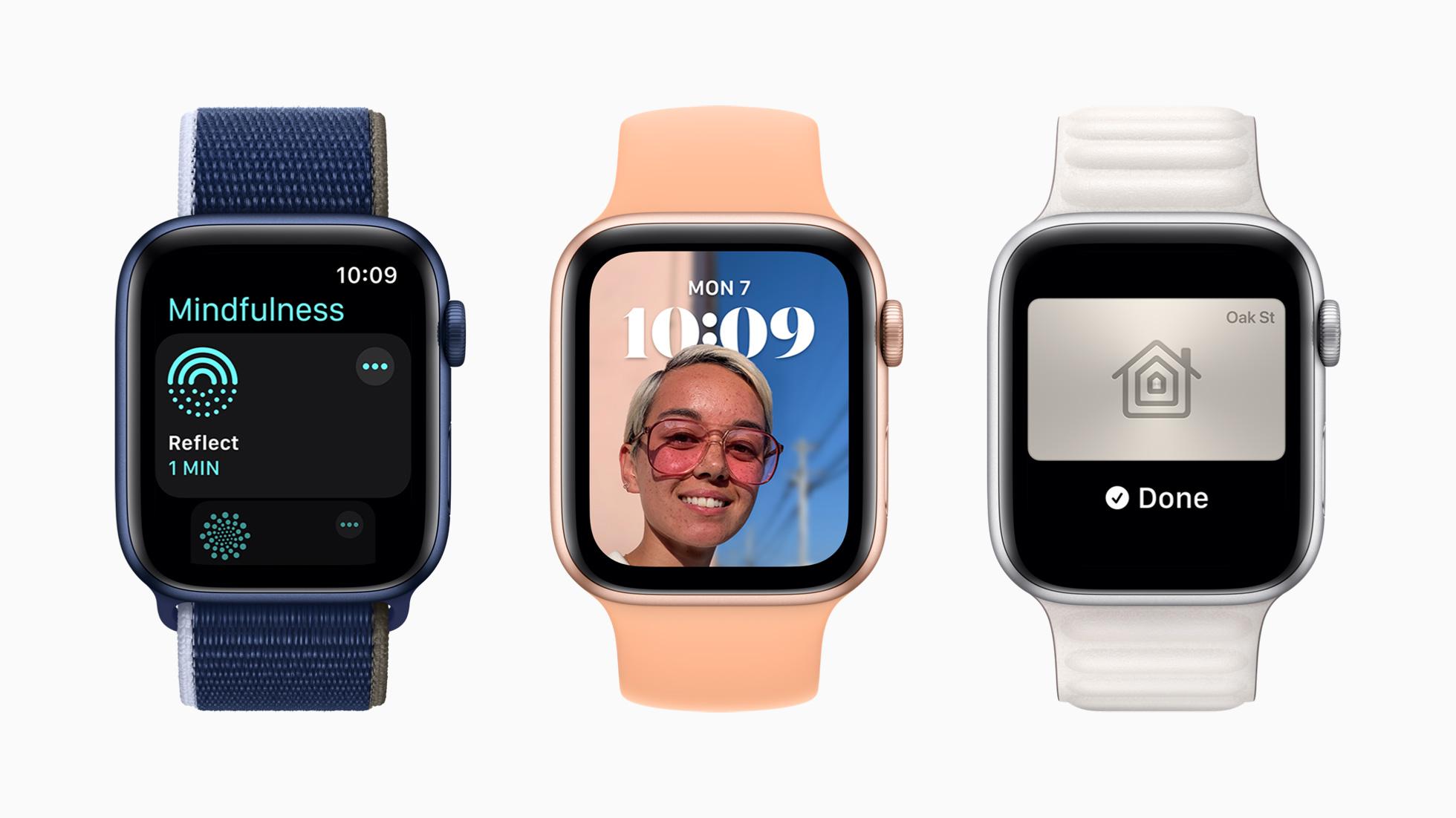 Apple WWDC2021 WatchOS 2021