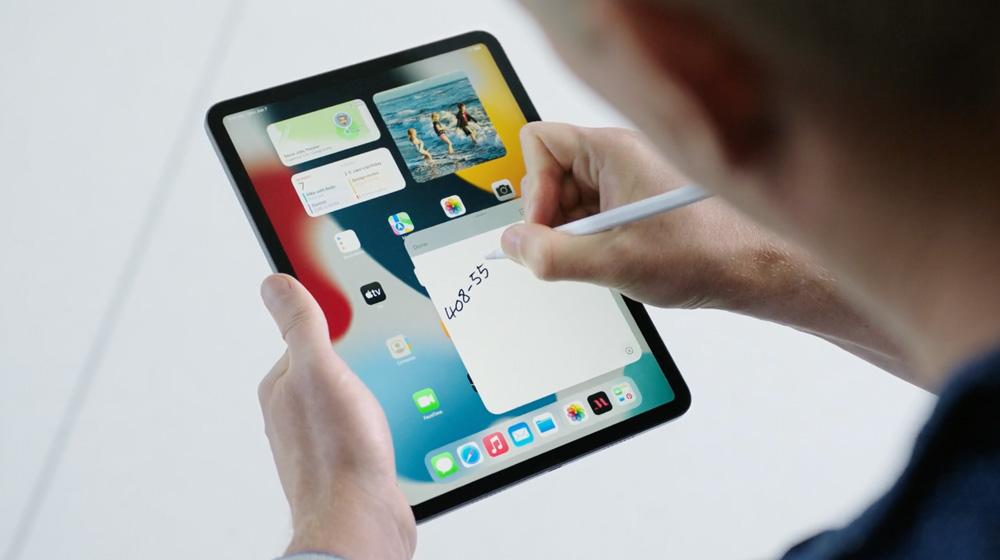 Quick Note iPadOS WWDC2021