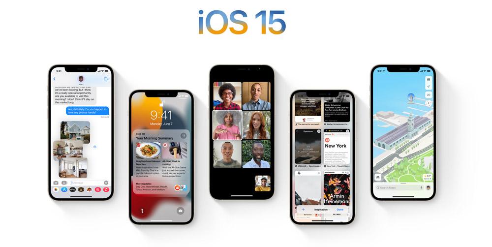 iOS 15 WWDC 2021