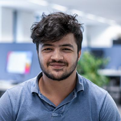 Arabi, React developer bij Coffee IT
