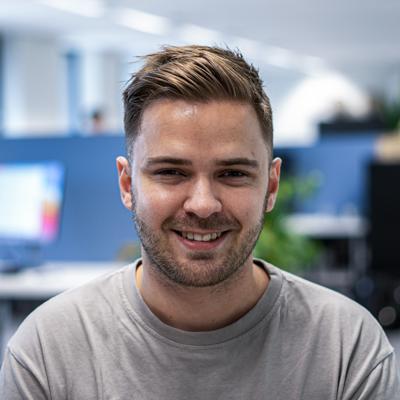 Bram, UX designer bij Coffee IT