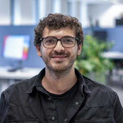 Federico, Android developer bij Coffee IT