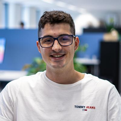 Fransisco, Backend developer bij Coffee IT
